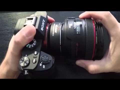 Viltrox EF-NEX II Canon EF to Sony E-Mount Adapter Review & Unboxing