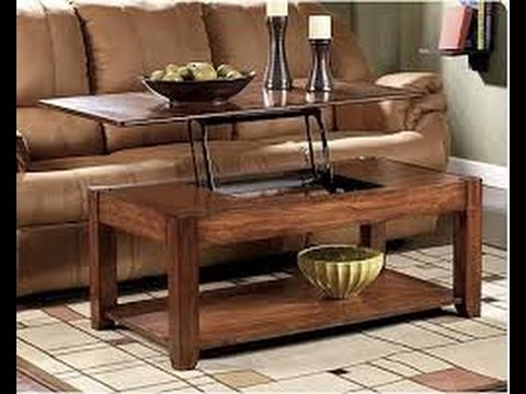 Coffee Table That Raises To Dining