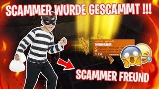 Scammer wurde gescammt !!! ...er SCHICKT SEINEN SCAMMER FREUND 😂😱 - Fortnite Rette die Welt