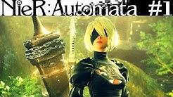 10000 Jahre Später – NieR Automata Gameplay German #1 – Lets Play Nier 2 Deutsch | PS4 Pro
