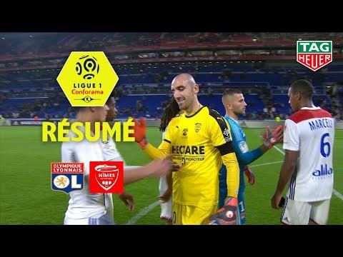 Olympique Lyonnais - Nîmes Olympique ( 2-0 ) - Résumé - (OL - NIMES) / 2018-19