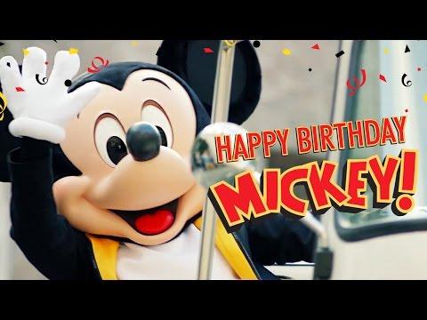 Mickey's Birthday Trip Around the World 2016 | Happy Birthday Mickey