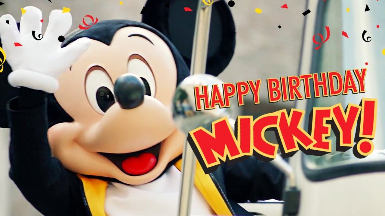Mickey S Birthday Trip Around The World 2016 Happy