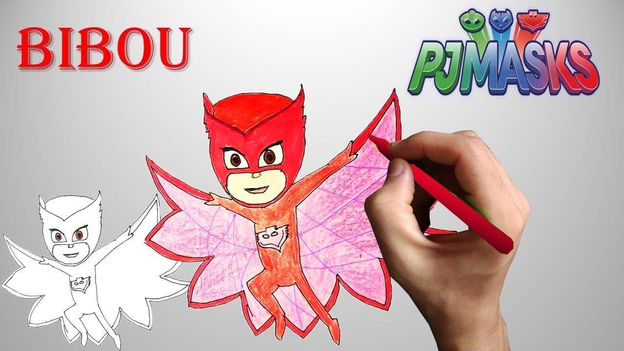 Dessin Coloriage Bibou Les Pyjamasques How To Draw Owlette Pj Masks