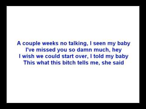 Kid Cudi - Erase Me Feat. Kanye West (lyrics)