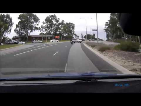 Wangara Motorbike Near Miss- Perth Wa
