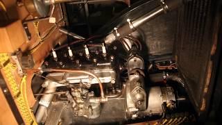 Mise en marche du moteur de ma 5cv Citroën