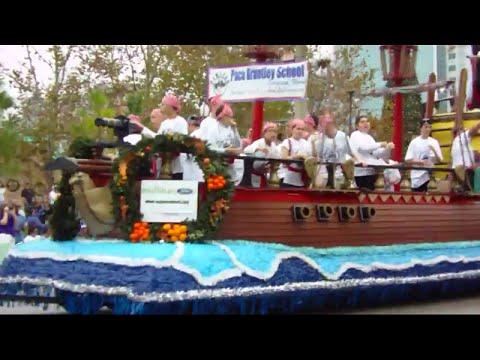 Florida Citrus Parade 2014: Pace Brantley School - Longwood FL