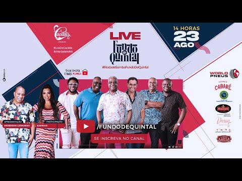 Live | Roda de Samba Fundo De Quintal | #EmCasa e #Comigo