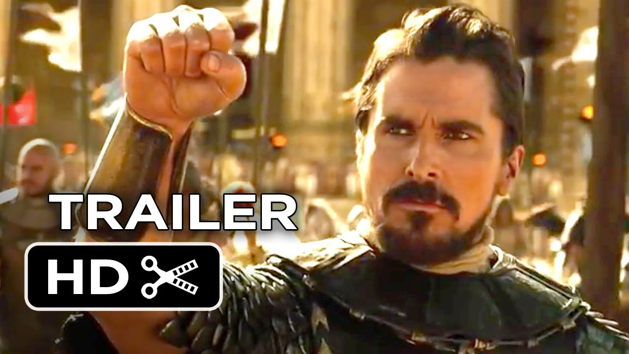 Exodus Gods And Kings Official Trailer Christian Bale - Best trailers 2014 one epic video
