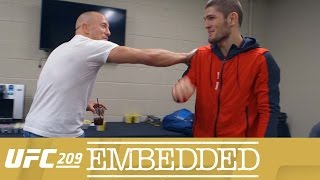 UFC 209 Embedded: Vlog Series - Episode 5 thumbnail