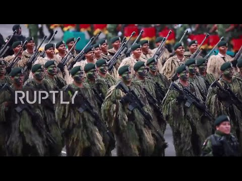 Mexico: Huge military parade dominates capital on Independence Day