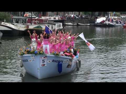 Gay Pride Amsterdam 2010, canal parade 4