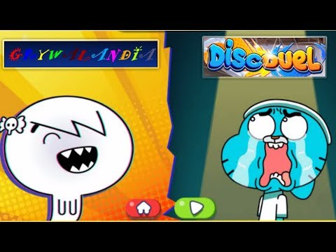 The Amazing World Of Gumbal: Disc Duel ( Cartoon Network ) #2