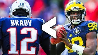 9 Michigan Wolverines Quarterbacks Who Were Actually BETTER Than Tom Brady