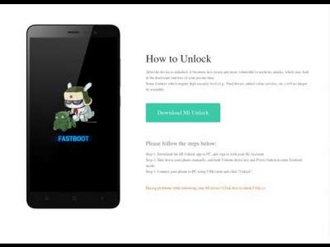 Kết quả hình ảnh cho unlock bootloader Mi5