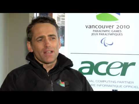 Everyday Heroes - Bruce Warner: the only athlete from South Africa at the Vancouver 2010 Paralympics