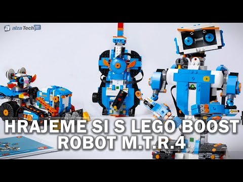 Hrajeme si s LEGO Boost 2: Buldozer M.T.R. 4! - AlzaTech #646
