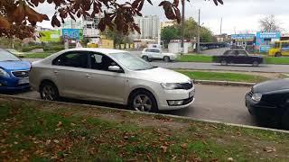 Обучение параллельной парковке. 6 основных этапов вкратце + приколы неудачных попыток.