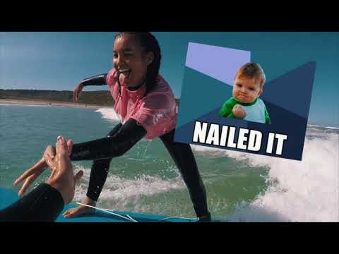 Watch Me Learn How To Surf In Australia! - Vlog 10