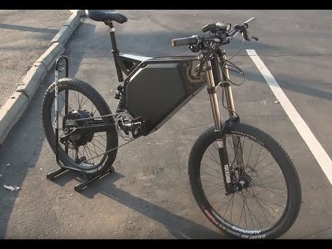 FASTEST ELECTRIC BIKE 7000W 70MPH - Wolverine BM (Ballistic Missile) FIRST LOOK by Top Gun Bikes