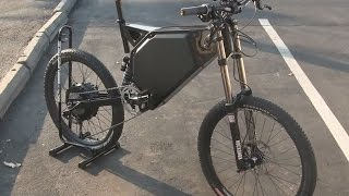 FASTEST ELECTRIC BIKE 7000W 70MPH - Wolverine BM (Ballistic Missile) FIRST LOOK by Hi Trek Cycles