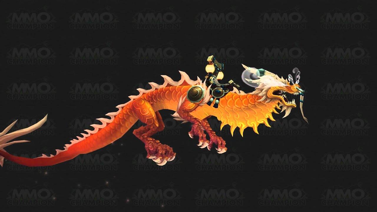 World Of Warcraft Wallpaper Hd Mists Of Pandaria Pandaren Cloud Serpent Mount All