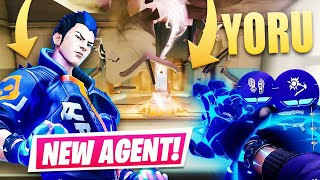 *NEW* Valorant Agent - YΟRU   RADIANT Gameplay & First impression