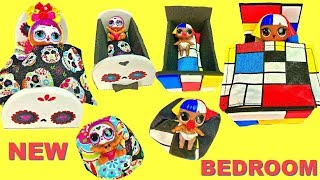LOL Surprise Mansion House with Custom Bedrooms for Shapes and Bebe Bonita