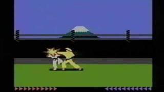 Classic Game Room - KARATEKA review for Atari 7800