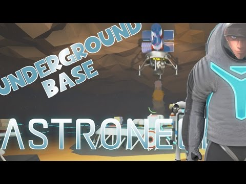 ASTRONEER UNDERGROUND BASE - Trading and fuel production Room | Gameplay part Let's Play