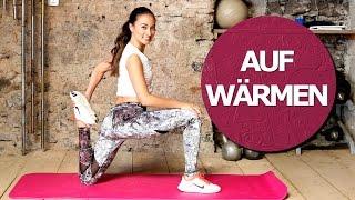 Aufwärmübungen - richtig Aufwärmen - Meine Warm-up Routine vor dem Training - Dehnen
