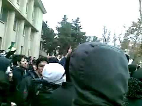 Iran Tehran Uni 8 Dec 09 (17 Azar) Protest P22