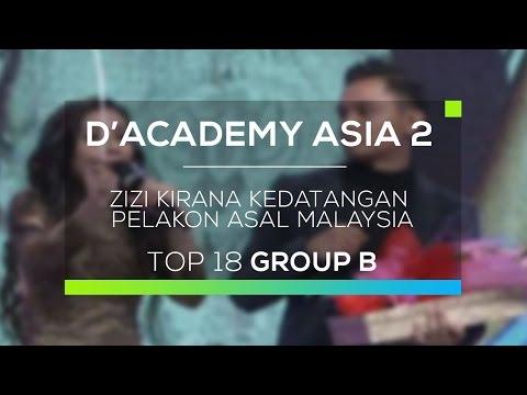Zizi Kirana Kedatangan Pelakon asal Malaysia (D'Academy Asia 2)