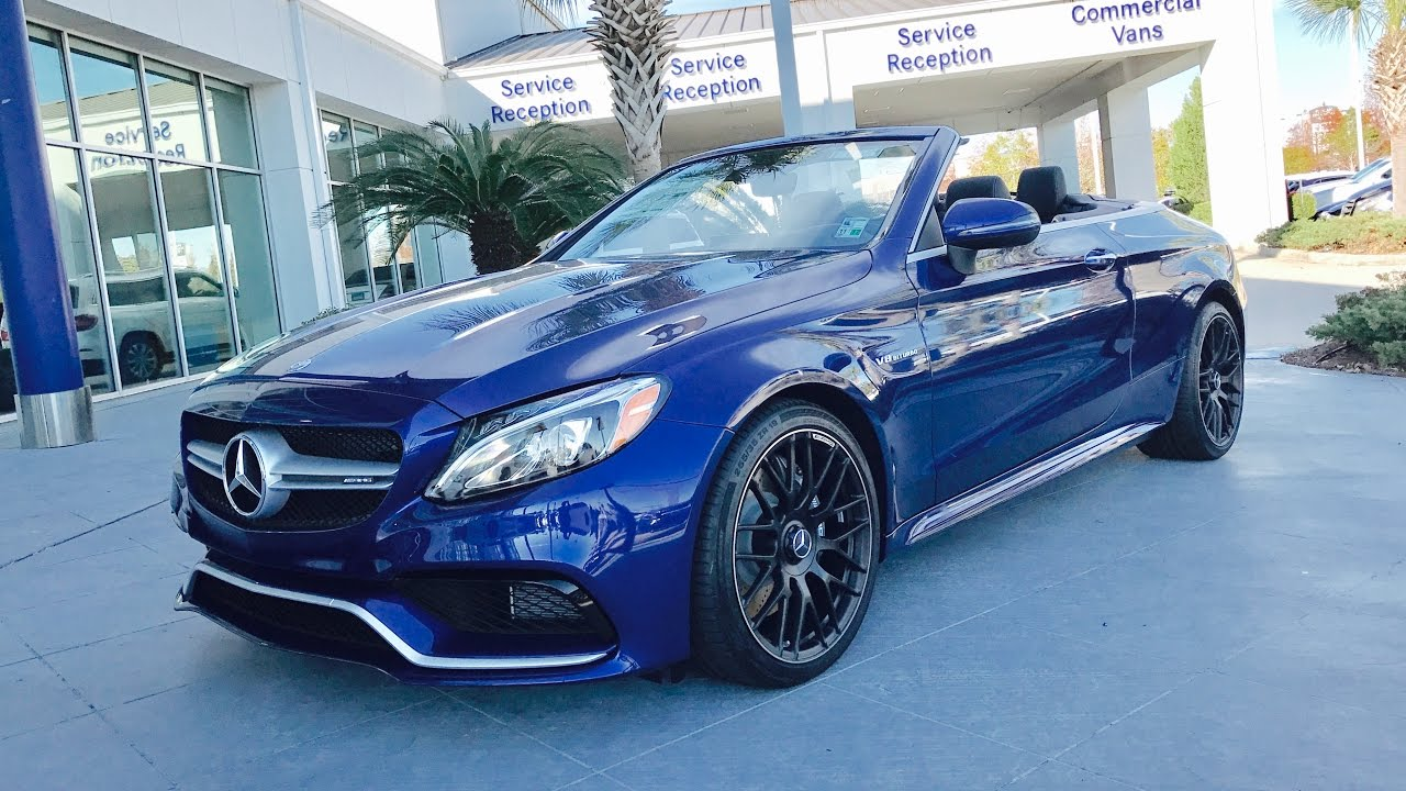 2017 mercedes benz c class c63 amg cabriolet convertible. Black Bedroom Furniture Sets. Home Design Ideas