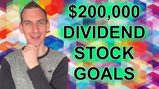 My Dividend Stock Investing Goals To Finish 2020 | Passive Income