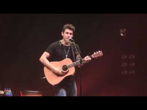 In The Blood: John Mayer Acoustic: Modell Lyric 10/7/18