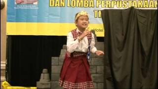 Lomba Bercerita Bagi Siswa SD/MI Tingkat Nasional tahun2011 Peserta dari Jawa Tengah