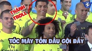 Không ngờ Ronaldo lại là THÁNH troll với những tình huống không đỡ nổi =))