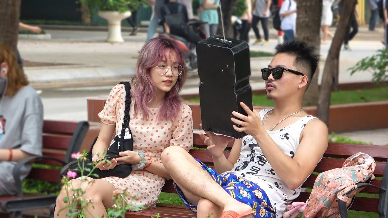 Cầm Iphone 100 Tán Gái   Huge Smart Phone Pickup Lines