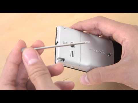 Sony-Ericsson Aspen Erster Eindruck
