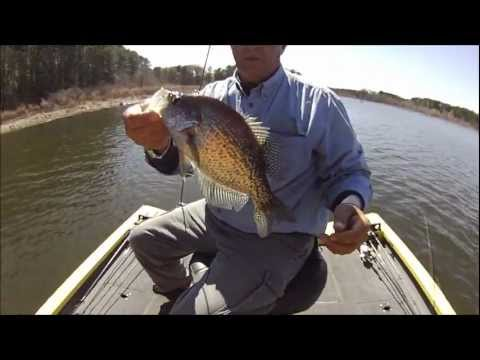 Spring crappie fishing toledo bend mar 5 2012 youtube for Toledo bend fishing report