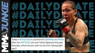Daily Debate: Who do you want to see Cyborg fight next?