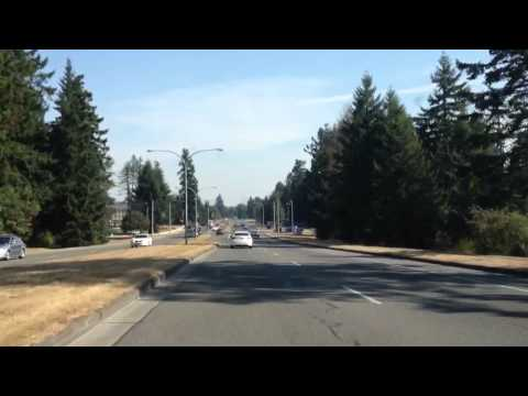 Driving and Cruising  @ JBLM  / Fort Lewis,  WA (HD) (3D)