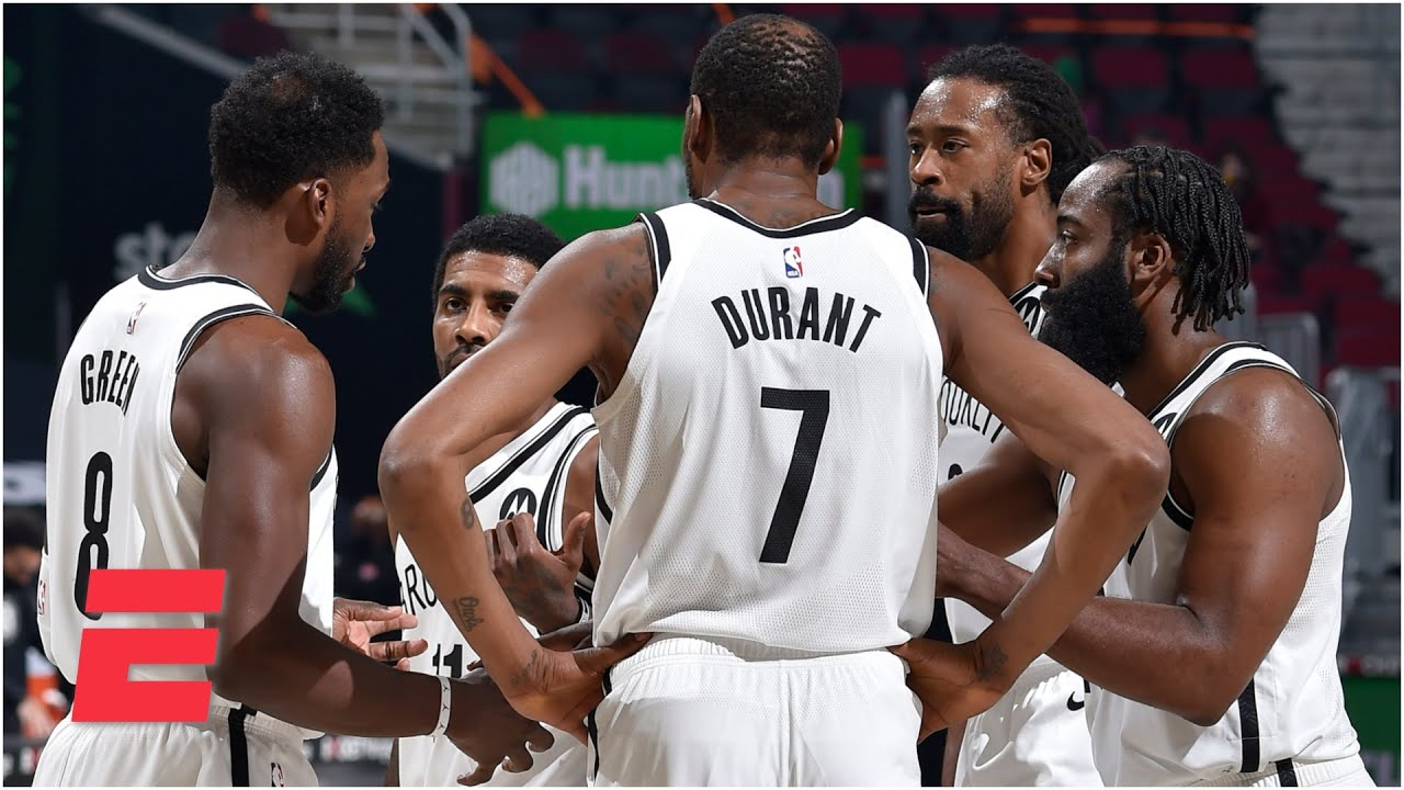Kendrick Perkins: The Nets' Big 3 has to get other players involved! | SportsCenter