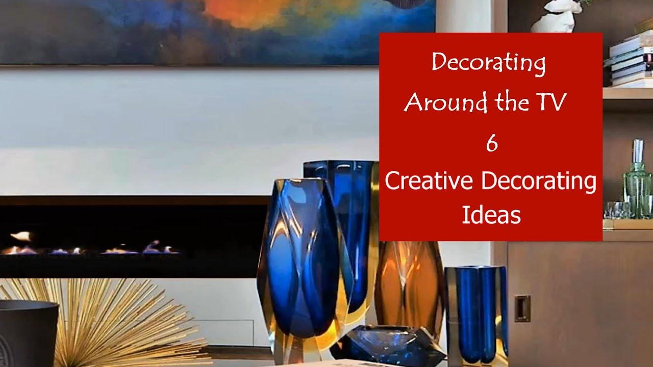 Best Ways to Decorate Around Your TV | Creative Decorating Ideas #17