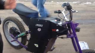 Полноприводный электро байк. Custom electric Bike. Обзор.