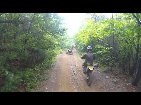 KTM EXC 250 Ride The Ridge pt. 1