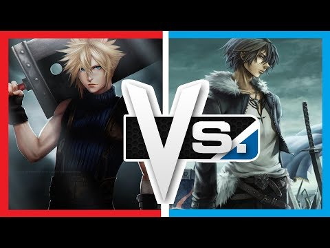 Versus Series | Cloud Strife Vs. Squall Leonhart