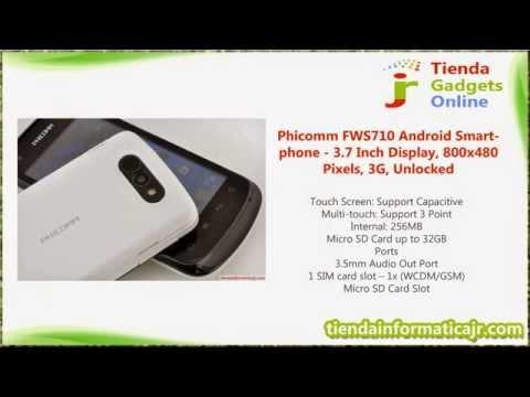 Phicomm FWS710 Android Smartphone - 3.7 Inch Display, 800x480 Pixels, 3G, Unlocked